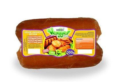 Linguiça  de soja Goshen 300g (Congelado) sabor defumada