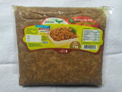Recheio sabor carne moída goshen 1kg (Congelado)