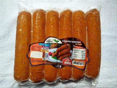 Linguiça Calabresa  de soja Goshen 900g  (Congelado)