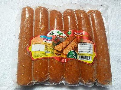 Linguiça Apimentada  de soja Goshen 900g  (Congelado)