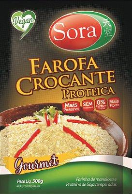 Farofa crocante proteica Gourmet Sora 300g