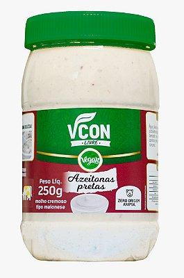 Maionese Vcon sabor azeitonas pretas 250g