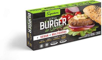 Burger de Quinoa 360g ( embalagem com 6 unidades)