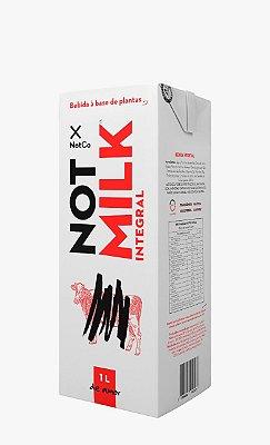 Leite Vegano Not Milk Integral Bebida à base de Plantas 1L
