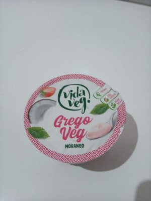 Iogurte Gregoveg Morango Vidaveg 150g