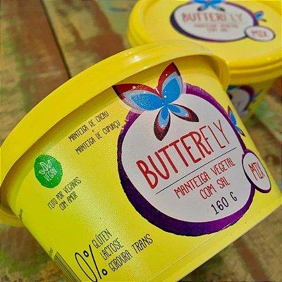 Manteiga vegana Butterfly 160g (Manteiga de cacau + manteiga de cupuaçu)