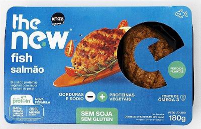 The new Fish Filés com sabor e textura de Salmão 180g (2 filés por embalagem)