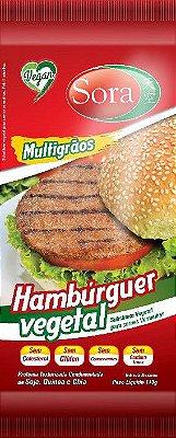 Hambúrguer vegetal Desidratado Sora carne vermelha 110g (Produto temporariamente feito com Soja transgênica)