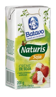 Creme de leite de soja Batavao 200g