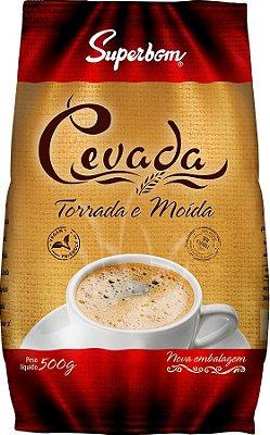 Cevada Torrada e moída (café de cevada) Superbom 500g