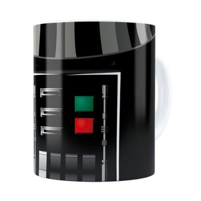 Caneca Star Wars Darth Vader Corpo Branca