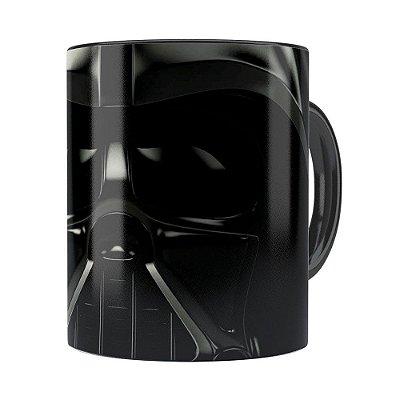 Caneca Star Wars Darth Vader v01 Cabeça Preta
