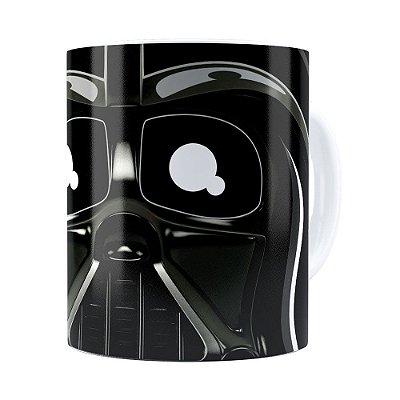 Caneca Star Wars Darth Vader v02 Cabeça Branca
