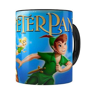 Caneca Peter Pan 3D Print Preta