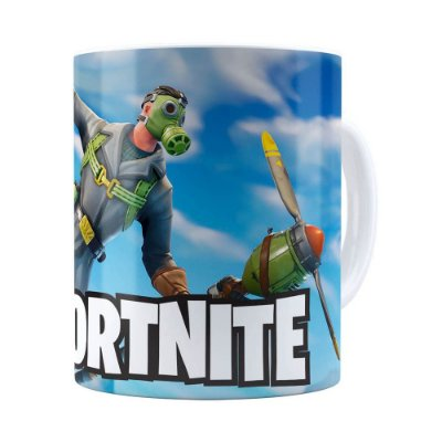 Caneca Fortnite Games v02 Branca