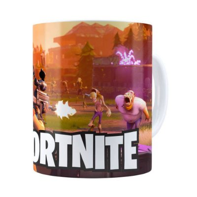 Caneca Fortnite Games v03 Branca