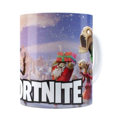 Caneca Fortnite Games v05 Branca
