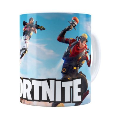 Caneca Fortnite Games v07 Branca