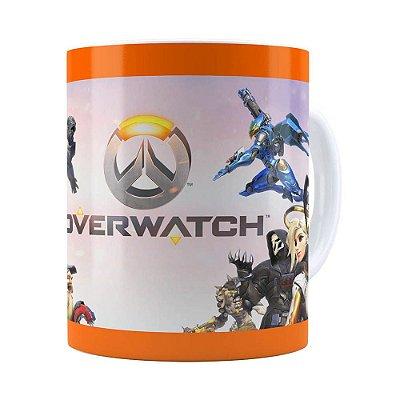Caneca Overwatch Game 3D Print v02 Branca