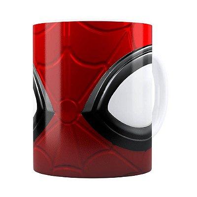 Caneca Spider Man 3D Print Branca