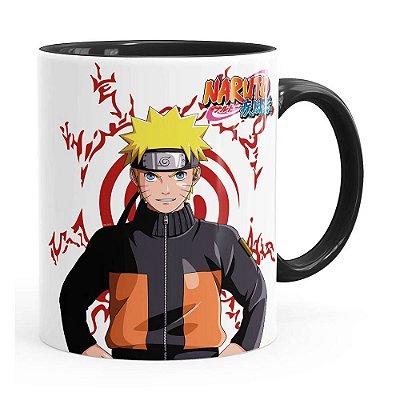 Caneca Naruto Shippuden Naruto Preta