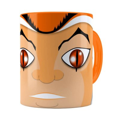 Caneca Thundercats Willy Kit Laranja