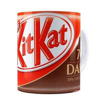 Caneca KitKat Dark Branca