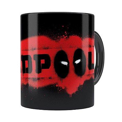 Caneca Deadpool v05 Preta