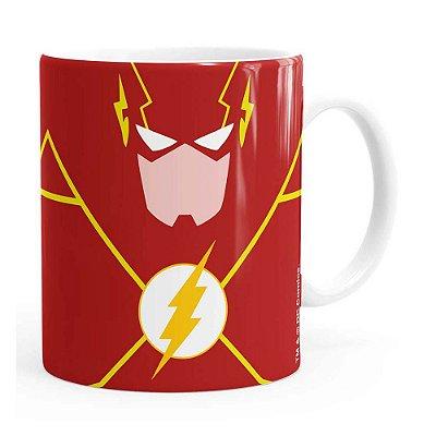 Caneca The Flash Minimalista Branca