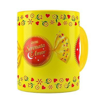 Caneca Serenata de Amor v02 Amarela