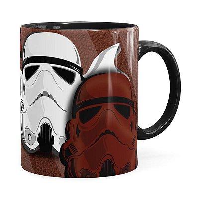 Caneca Star Wars StormTrufas Preta