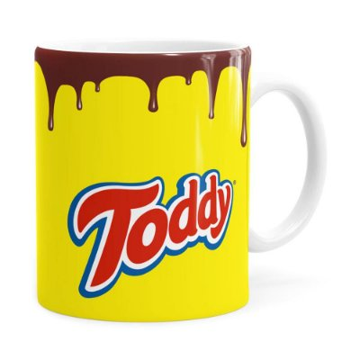 Caneca Toddy Porcelana Branca