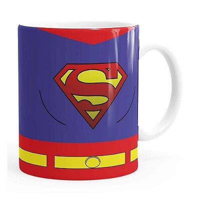 Caneca Superman Quadrinhos HQ Branca