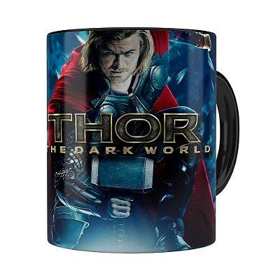 Caneca Thor The Dark World Filme Preta