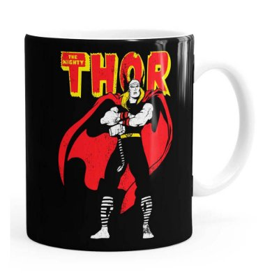 Caneca Thor The Mighty v01 Branca