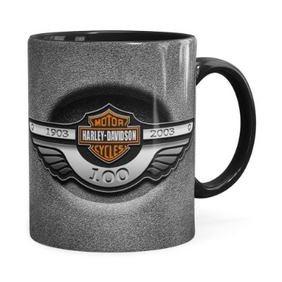 Caneca Harley Davidson História Preta