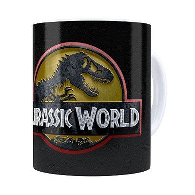 Caneca Jurassic World v01 Branca