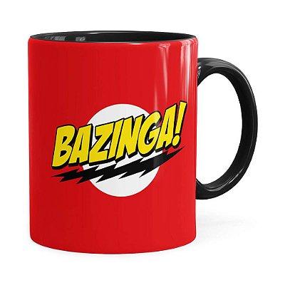 Caneca Bazinga! The Big Bang Theory Preta