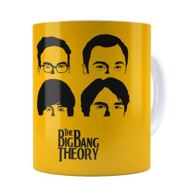 Caneca The Big Bang Theory v01 Branca