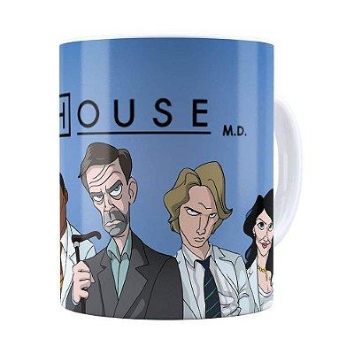 Caneca Dr House v01 Branca