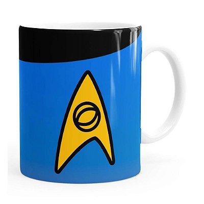 Caneca Star Trek Ciência Branca