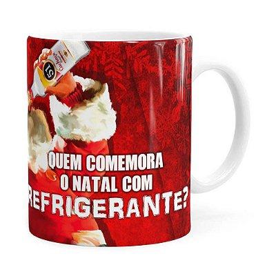 Caneca Natal Cachaça 51 Branca