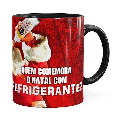 Caneca Natal Cachaça 51 Preta