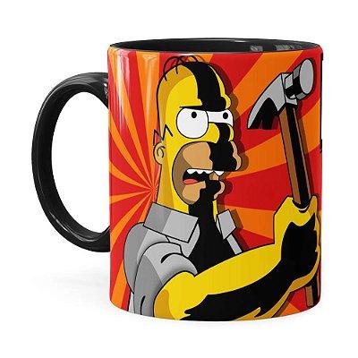 Caneca Pai Simpson Eu Faço