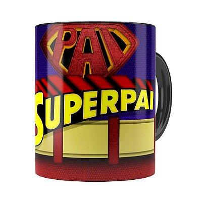Caneca Super Pai v02 Preta