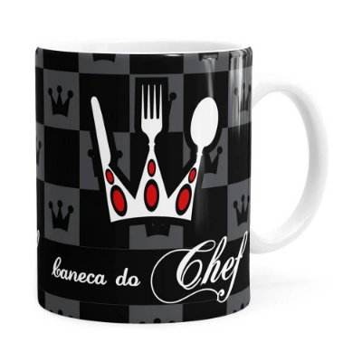 Caneca Exclusiva do Chef Branca