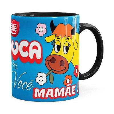 Caneca Chocolate Louca Mamae Preta