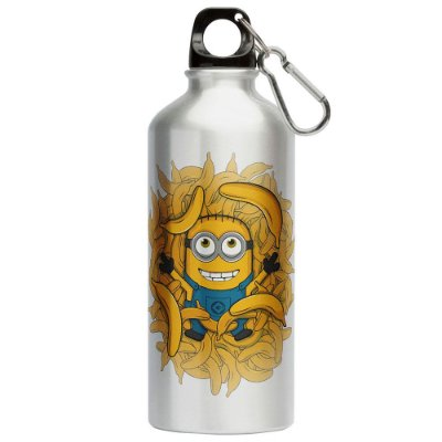 Squeeze Minion Bananas 500ml Aluminio