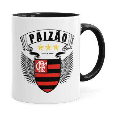 Caneca Paizão Atlético Flamengo Asas