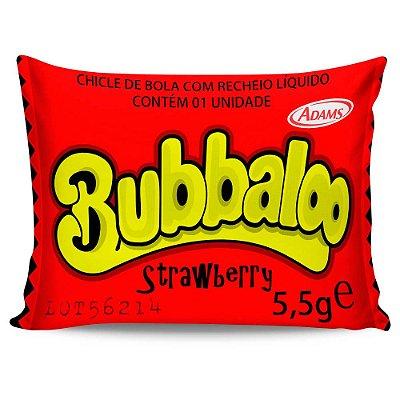Almofada Retrô Bubbaloo Strawberry 20x30cm